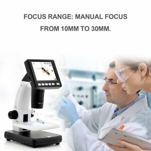 3 5 lcd 500x Desktop Digital Microscope 5mp Hd Usb Tv Camera Video Recorder Xo