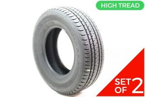 Set Of 2 New 245 70r16 Bridgestone Dueler H l Alenza Plus 106h 13 32