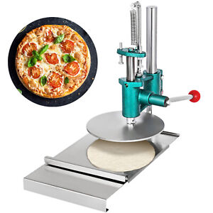 Manual Pastry Press Machines Stainless Steel 7 8 Cake Pizza Dough Bread Press