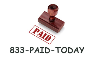 833 paid today Investment Mlm Cash Advance Choice Vanity Toll free No Domain 800