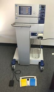 Erbe Vio 300 D Electrosurgical Unit Apc 2 Eip 2 Modules On Rolling Stand