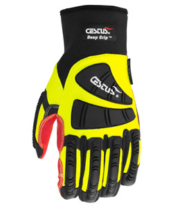 Cestus Armored Gloves Deep Grip 3026 Oil Resistant Impact Protection