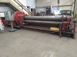 Webb 9l 1 2 X 10 Plate Bending Roll With Updated Vfd Drive And Safety Package