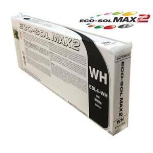 Roland White Ink Cartridge Eco sol Max2 Esl 4 220cc Brand New Sealed