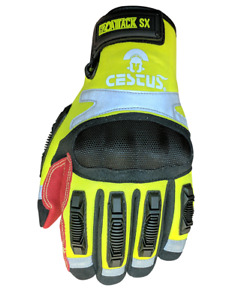 Cestus Armored Gloves H2o Attack sx 2006 Water Rescue Impact Protection