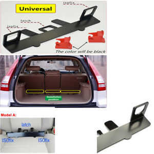 Universal Latch Isofix Belt Guide Bracket For Child Safety Seat On Compact Car