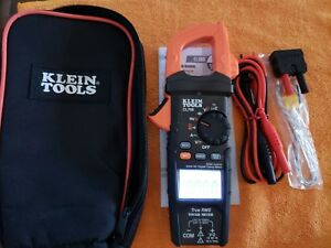 This Is The One Klein Tools Cl700 Digital Amp Meter Auto ranging true Rms temp
