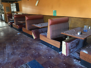 Booth Seating For 60 People Restaurant Booths Tables Seating Mexican Restaurant