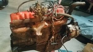 Ford 200 Cubic Inch Straight Six In Line 6 Cylinder Engine