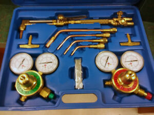 Campbell hausfield Gas Welding Cutting Kit Oxy Acetylene Oxygen Torch Brazing