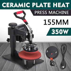 15x15inch Plate Heat Press Transfer Sublimation Latest Technology Brand New