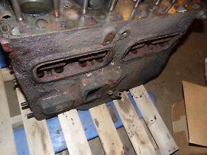 1950 Farmall Md Diesel Farm Tractor Engine Block