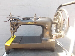 Industrial Sewing Machine Model Singer 7 31 Single Needle Walking Foot Leather
