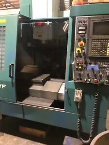 Matsuura Mc 600vf Cnc Vertical Machining Center haas