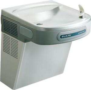 New Elkay Ezo8s2jo Cooler Wall Mount Ada Hands Free Drinking Fountain 220v 8gph
