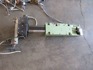 Agie 100 Cnc Edm Agiecut Z Axis Head Spindle Wire Thru Hydraulic Motor Assembly