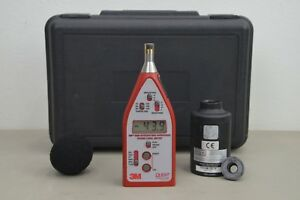 3m Quest Technologies Sound Level Meter 2200 W Sound Calibrator Qc 10 16341