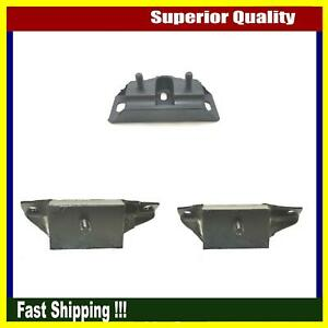 Brand New Dea Engine Motor Mount Set 3pcs For 65 66 Ford Mustang Shelby Gt 350
