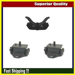 Brand New Dea Engine Motor Mount Set 3pcs For 1969 1972 Toyota Corona Mark Ii