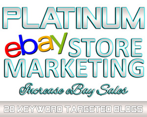 Dynamic Ebay Marketing And Blog Design With 20 Ebay Listings Promo