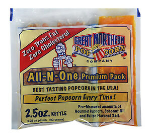 Great Northern Popcorn 2 5ounce Portion Packs pack Of 24
