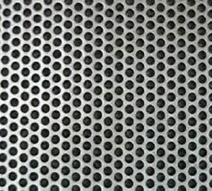 Perforated 304 Stainless Sheet 24g X 30 1 4 X 24 3 16 Perfs 1 4 Centers