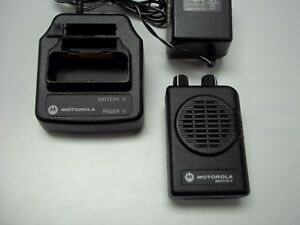 Motorola Minitor V 2 Channel Uhf 450 460mhz Pager