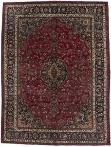 Unique S Antique Handmade Signed Vintage Persian Rug Oriental Area Carpet 10x13