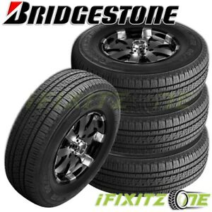 4 Bridgestone Dueler Hl Alenza Plus P245 70r16 106h Touring All Season Tires