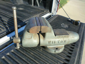 Usa Industrial Wilton Vise 4 1 2 Jaws Bullet Vise Bench Vise Model 450 450n