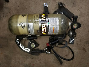 Msa Stealth L 30 Tank And Backpack Air Supply