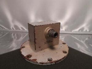 Eng Mfg Co Wr284 S band Coax Waveguide Adapter Type n