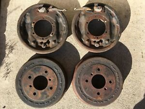 Triumph Tr4a Tr250 Tr6 Rear Brakes And Original Stanpart Drums