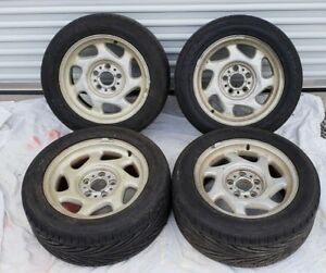 Bmw E31 Oem Wheels 16x7 5 Et15 Set Of 4 Toyo Tires