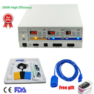300w Electrosurgical Unit Machine Generator Cautery Diathermy Diathermy Machine