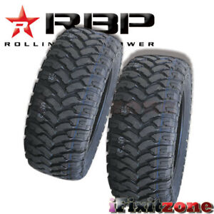 2 Rolling Big Power Rbp Repulsor Mt 33x12 50r15lt 6p 108q All Terrain Mud Tires