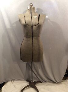 Vintage Circa 1940s Acme Adjustable Dress Form