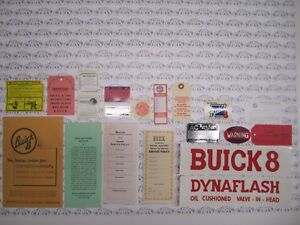 1939 Buick Special Decal Kit Set Of 19