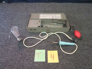 Weller Wtcpk Soldering Brazing Outfit Desoldering Pencil Electric Military Used