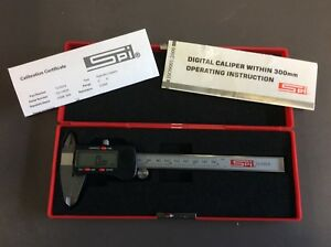 Electronic Digital Caliper Spi 12 533 6 150mm
