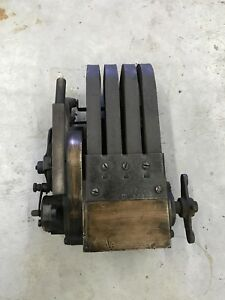 Rare Kw High Bar Magneto Brass Heavy Antique Praire Tractor Car Gas Engine