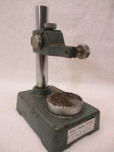 Mitutoyo Dial Gage Stand 7003 Model Dgs e Made In Japan