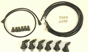 1934 1955 Plymouth 6 Cylinder Sparkplug Wires And Everdry Spark Plug Boots
