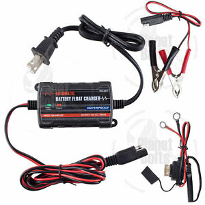 Battery Charger 12v Slow Charge Motorcycle Car Amg Electric Trickle Maintainer