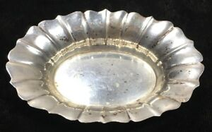 Wallace Sterling Silver Small Nut Candy Dish 220 3 1 4