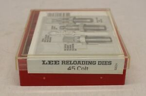 LEE Reloading Kit ~ 3 Die Set ~ .45 LONG COLT ~ Ammo Tool