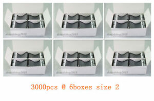 3000pcs Barrier Envelopes For Phosphor Plate Dental X ray Scanx Size 2 Paper Box