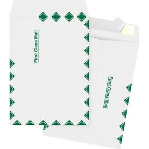 Catalog Envelopes First Class 10 x13 100 bx White Bsn65859