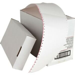 Index Cards Continuous feed Punched 3 x5 4000 ct We Spr01097