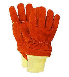 Magid Thermal Leather Firefighter s Gloves Large Pair